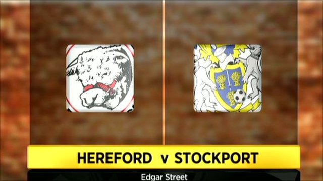 Hereford 3-0 Stockport