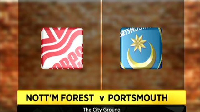 Nottingham Forest 2-1 Portsmouth