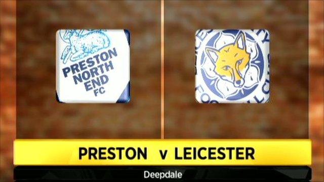 Preston 1-1 Leicester
