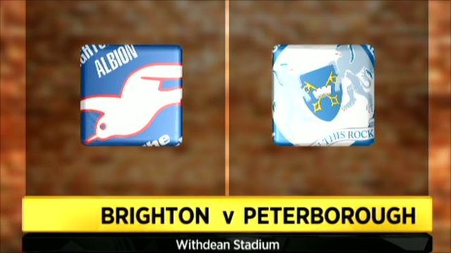Brighton 3-1 Peterborough
