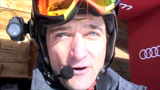 Ski Sunday presenter Graham Bell