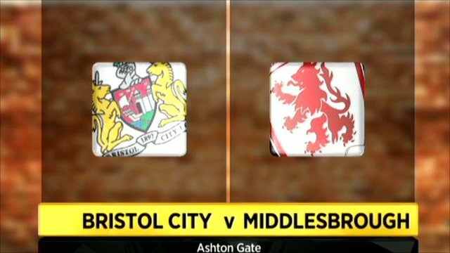 Birstol City 0-4 Middlesbrough
