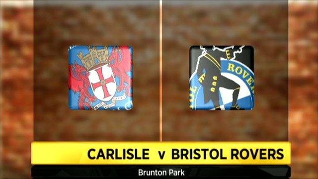 Carlisle 4-0 Bristol Rovers