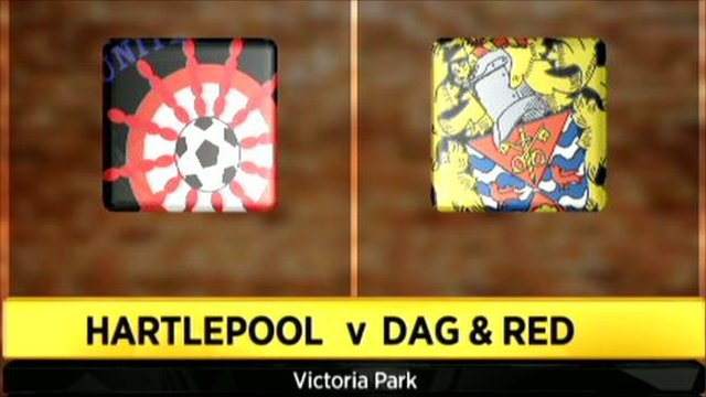 Hartlepool 0-1 Dag & Red