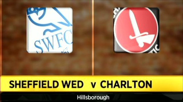Sheff Wed 2-2 Charlton