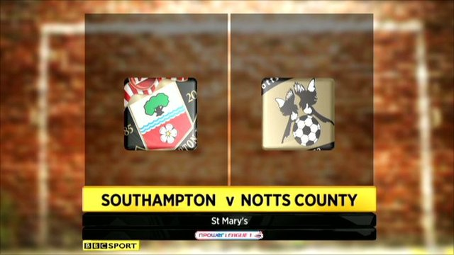 Southampton 0-0 Notts County