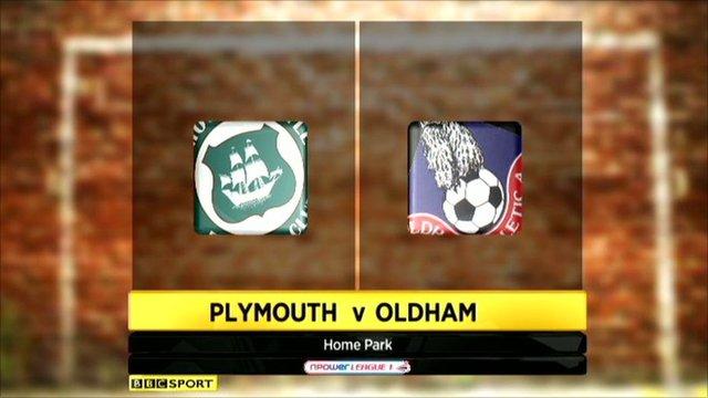 Plymouth v Oldham