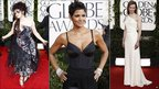 Helena Bonham Carter, Halle Berry and Nicole Kidman at the Golden Globes