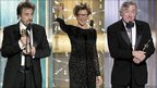 Al Pacino, Annette Bening and Robert De Niro at the Golden Globes
