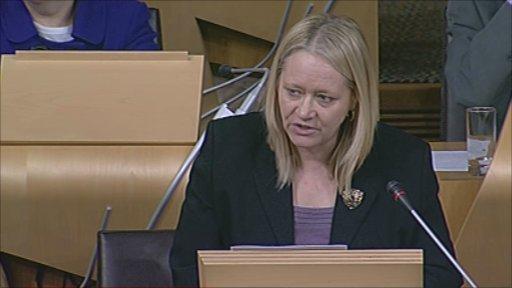 Labour MSP Cathy Jamieson
