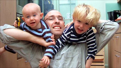 Thom Chesser and his sons Isaac and Jacob