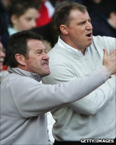 Chris Hutchings and Paul Jewell