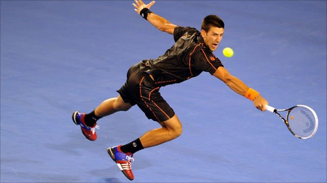 2008 Australian Open champion Novak Djokovic