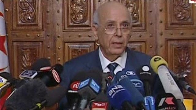 Prime Minister Mohammed Ghannouchi