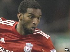 Liverpool forward Ryan Babel