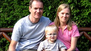 Colin McCormick and family