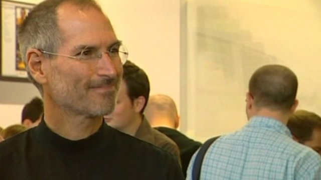 Apple boss Steve Jobs has announced that he is to take