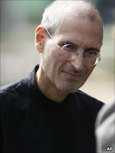 Steve Jobs, pictured in Oct 2010