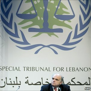 The chief prosecutor of the Special Tribunal for Lebanon, Canadian Daniel Bellemare, at The Hague (1 March 2009)