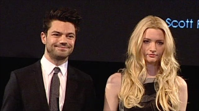Actors Dominic Cooper and Talulah Riley