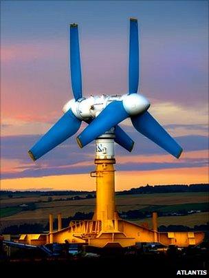 Gujarat tidal energy