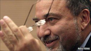 Israeli foreign minister, Avigdor Lieberman