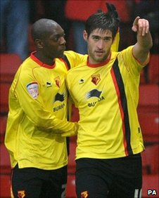 Marvin Sordell and Danny Graham