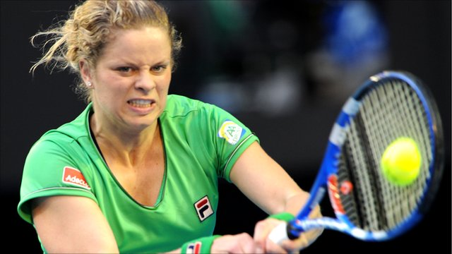 World number three Kim Clijstersge