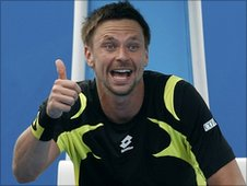 Sweden's Robin Soderling