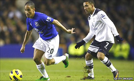 Steven Pienaar and Aaron Lennon