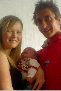 Thomas Padden, 20, a Louise Evans, 23
