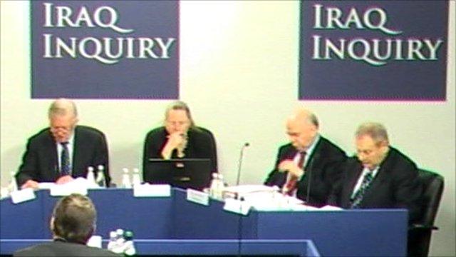 Panel of Iraq inquiry