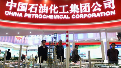 model of the China Petrochemical Corporation