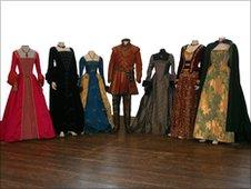 Tudors costumes