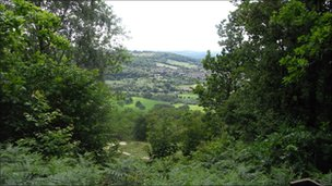 View from Brown's Folly - Avon Wildlife Trust