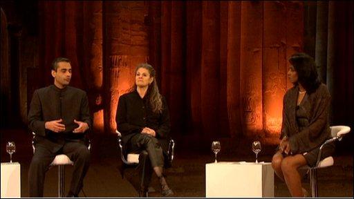 World debate in Luxor