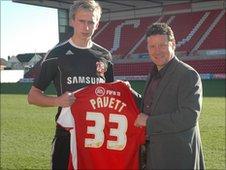 Jordan Pavett and Danny Wilson