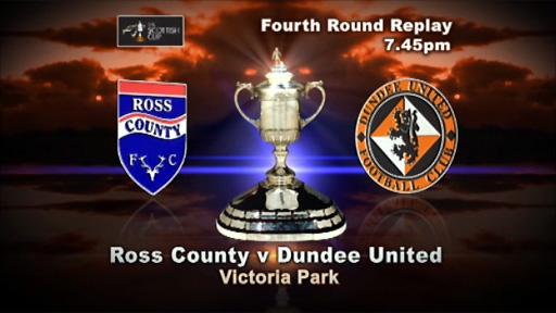 Ross County v Dundee Utd