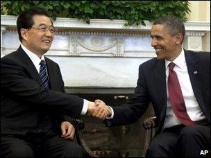 Obama Jintao