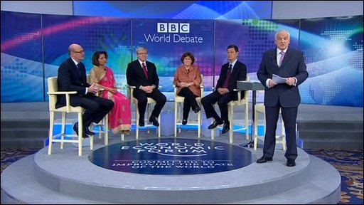 BBC World Debate in Dubai