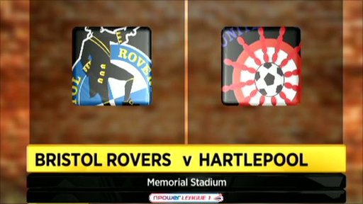 Bristol Rovers 0-0 Hartlepool