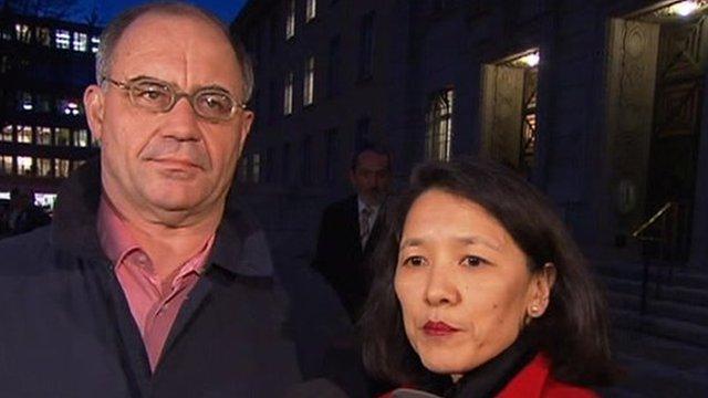 Rudolf Elmer with lawyer