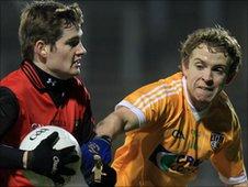 Conor Maginn (left) and Dean O'Neill
