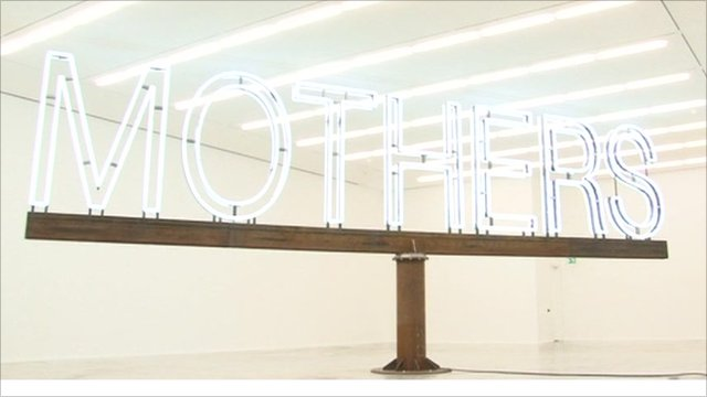 Martin Creed's sculpture