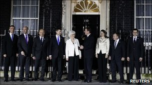 David Cameron and Nordic and Baltic leaders