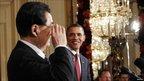 Hu Jintao and Barack Obama press conference