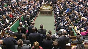 Commons in session