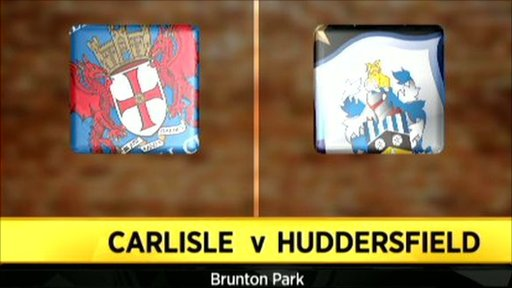 Carlisle 4-0 Huddersfield