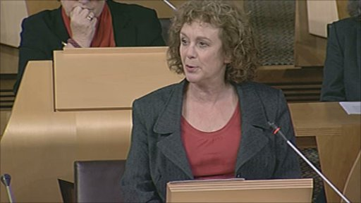 Labour MSP Elaine Murray