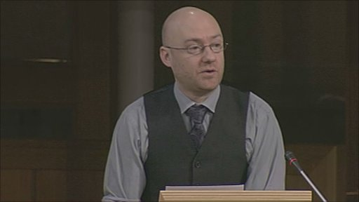Green Party co-convener Patrick Harvie